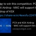 Free PCX and KSX for participating in the sherpa x airdrop